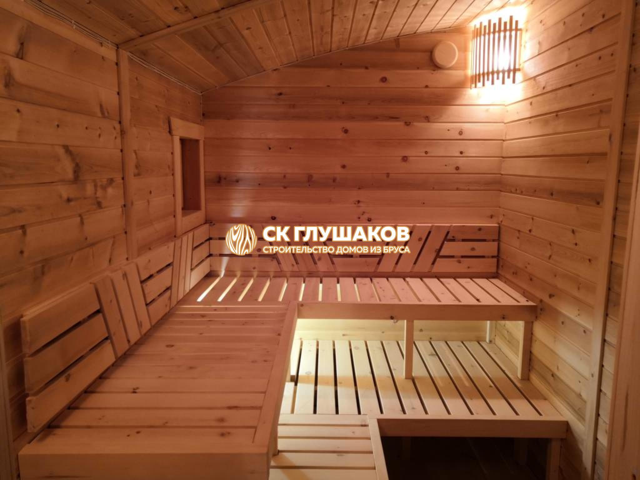 баня бочки под ключ недорого московская область